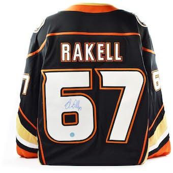 Rickard Rakell Autographed Anaheim Ducks Fanatics Hockey Jersey (AJSW COA)