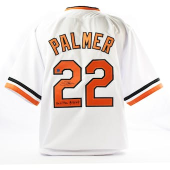 Jim Palmer Autographed Baltimore Orioles Custom Baseball Jersey w/ Inscription (DACW COA)