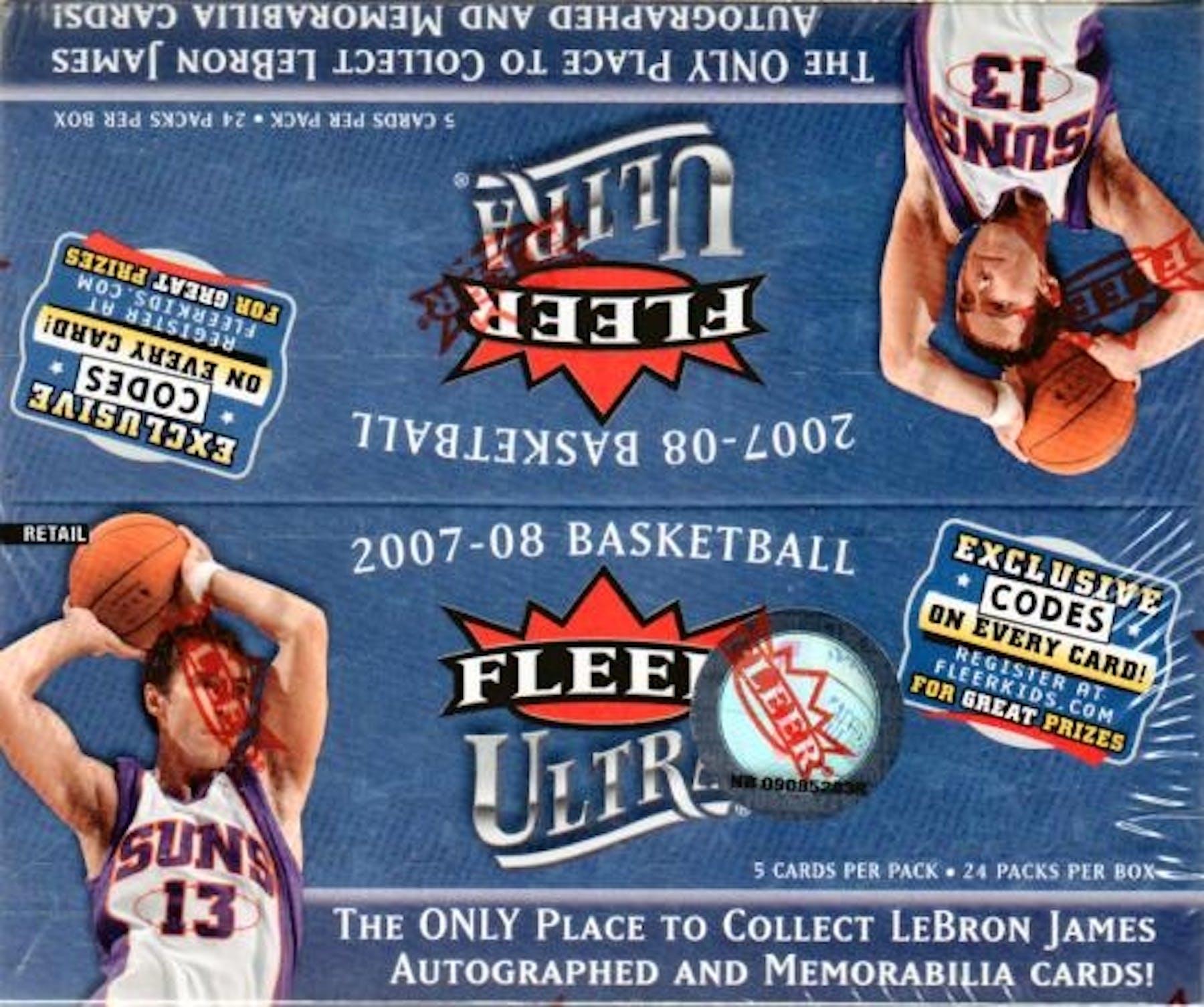 promo code 168de 8591f 2007/08 Fleer Ultra Basketball 24-Pack Box | DA Card World
