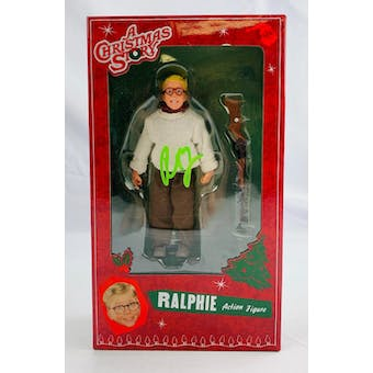 "A Christmas Story NECA 6"" Ralphie Action Figure Autographed by Peter Billingsley"