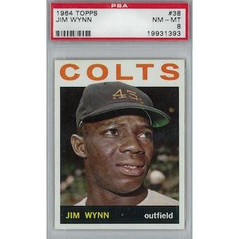 1964 Topps Baseball #38 Jim Wynn PSA 8 (NM-MT) *1393 (Reed Buy)