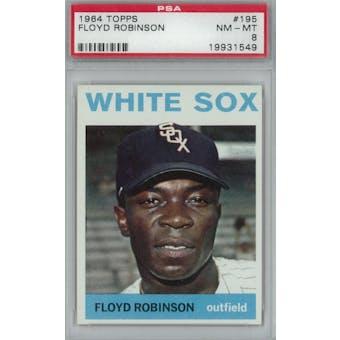 1964 Topps Baseball #195 Floyd Robinson PSA 8 (NM-MT) *1549 (Reed Buy)
