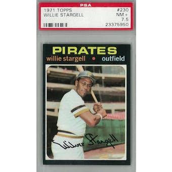 1971 Topps Baseball #230 Willie Stargell PSA 7.5 (NM+) *5950 (Reed Buy)