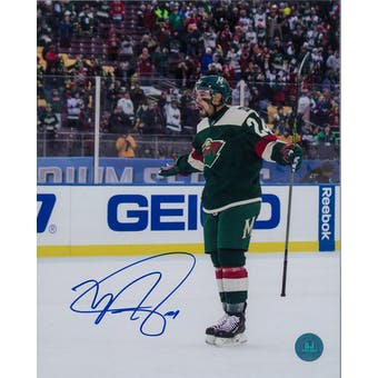 Matthew Dumba Autographed Minnesota Wild 8x10 Photo (AJSW COA)