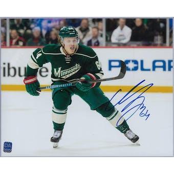 Mikael Granlund Autographed Minnesota Wild 8x10 Photo (DACW COA)