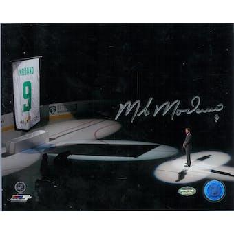 Mike Modano Autographed Dallas Stars 8x10 Photo (Schwartz COA)