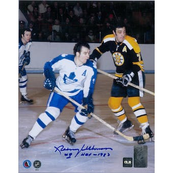 Norm Ullman Autographed Toronto Maple Leafs 8x10 Photo (COJO COA)