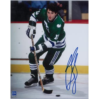 Ron Francis Autographed Hartford Whalers 8x10 Photo (DACW COA)