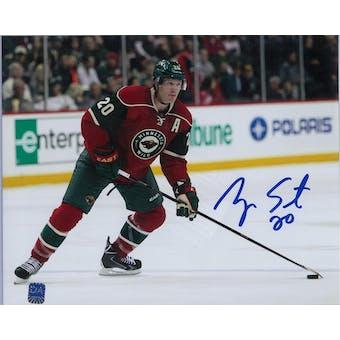 Ryan Suter Autographed Minnesota Wild 8x10 Photo (DACW COA)