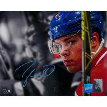 Taylor Hall Autographed Edmonton Oilers 8x10 Closeup Photo (Frameworth COA)