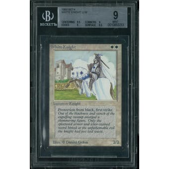 Magic the Gathering Beta White Knight BGS 9 (9.5, 9, 9, 9.5)