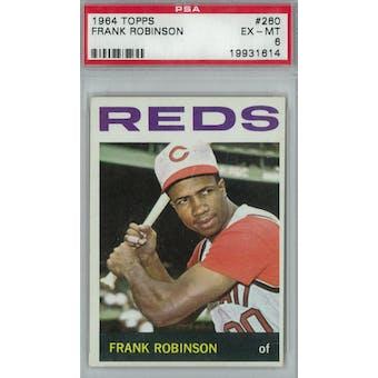 1964 Topps Baseball #260 Frank Robinson PSA 6 (EX-MT) *1614 (Reed Buy)