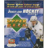 2007/08 Upper Deck Series 1 Hockey Fat Pack Box