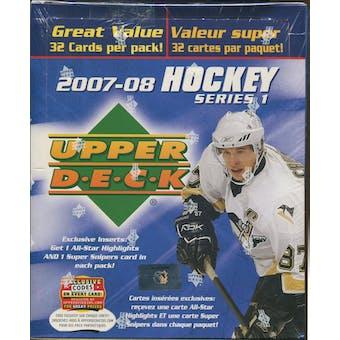 2007/08 Upper Deck Series 1 Hockey Fat Pack Box
