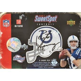 2007 Upper Deck Sweet Spot Football Hobby Box