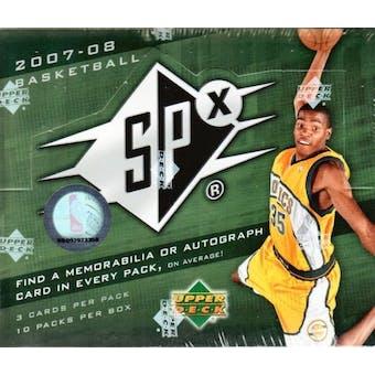2007/08 Upper Deck SPx Basketball Hobby Box