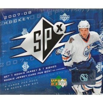 2007/08 Upper Deck SPx Hockey Hobby Box