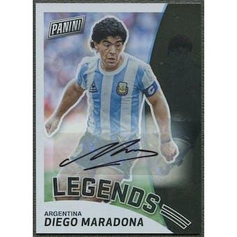 2019 Panini National #DM Diego Maradona Legends Auto #2/5