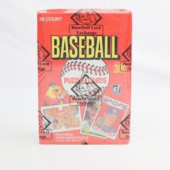 1984 Donruss Baseball Wax Box (BBCE) (Reed Buy)
