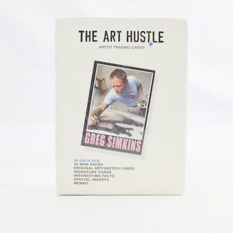 Art Hustle Trading Cards Hobby Box (2011 CardHacks) #/500 (Reed Buy)