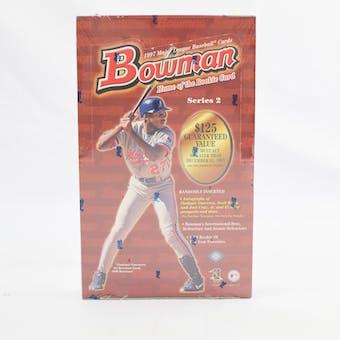 1997 Bowman Series 2 Baseball Hobby Box (Reed Buy)