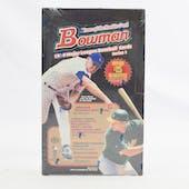 1999 Bowman Series 1 Baseball Hobby Box (Reed Buy)
