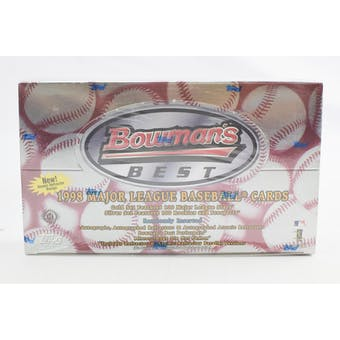1998 Bowman's Best Baseball Hobby Box (Reed Buy)