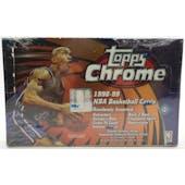 1998/99 Topps Chrome Basketball Hobby Box (Reed Buy)