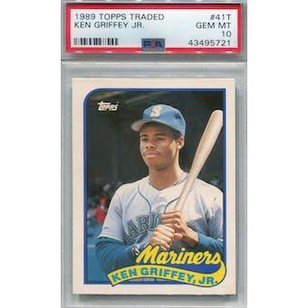 1989 Topps Traded #41T Ken Griffey Jr. PSA 10 (GM-MT) *5721 (Reed Buy)