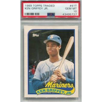 1989 Topps Traded #41T Ken Griffey Jr. PSA 10 (GM-MT) *5727 (Reed Buy)
