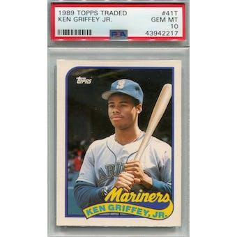 1989 Topps Traded #41T Ken Griffey Jr. PSA 10 (GM-MT) *2217 (Reed Buy)