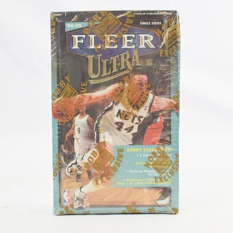 1998/99 Fleer Ultra Basketball Hobby Box (Reed Buy)