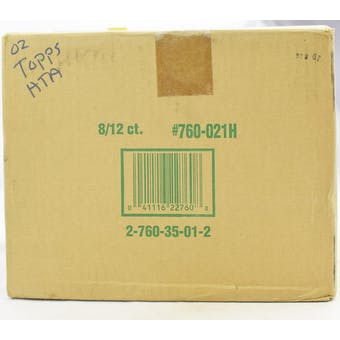 2002 Topps Series 1 Baseball Jumbo 8-Box Case (Reed Buy)