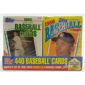 1996 Topps Cereal Box Baseball Factory Set (Reed Buy)