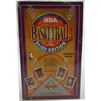 1991/92 Upper Deck Low # Basketball Hobby Box (Reed Buy)
