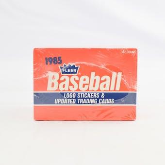 1985 Fleer Update Baseball Factory Set (Reed Buy)