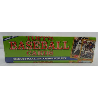 1987 Topps Baseball Factory Set (Christmas Set) (Reed Buy)