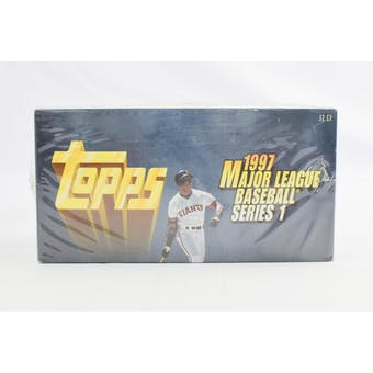 1997 Topps Series 1 Baseball Jumbo Box (Reed Buy)