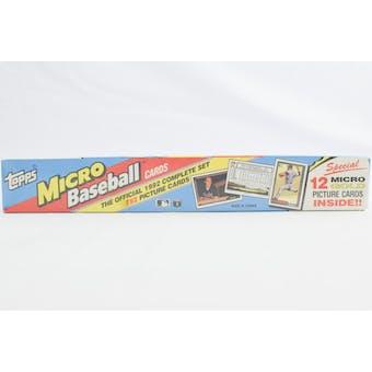 1992 Topps Micro Baseball Factory Set (Reed Buy)