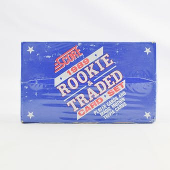 1989 Score Rookie & Traded Baseball Factory Set (Reed Buy)