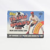 1999 Topps Traded & Rookies Baseball Factory Set (Reed Buy)
