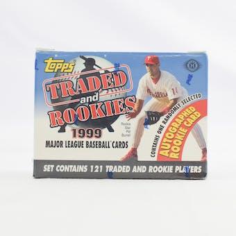 1999 Topps Traded & Rookies Baseball Factory Set (Reed Buy)