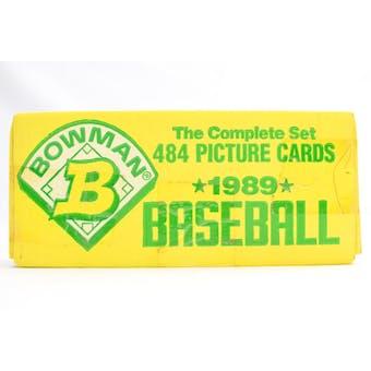 1989 Bowman Baseball Factory Set (yellow box) (Reed Buy)