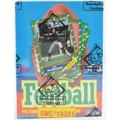 1986 Topps Football Wax Box (Sam's Club) (BBCE) (FASC) (Reed Buy)