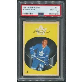 1962/63 Parkhurst Hockey #11 Bob Pulford PSA 8 (NM-MT)