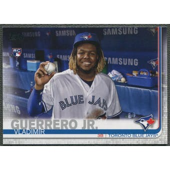 2019 Topps Update #US1B Vladimir Guerrero Jr. Photo Variations Holding Ball Rookie