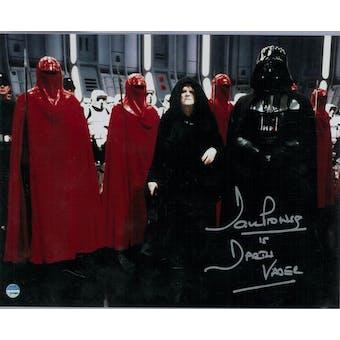 David Prowse Autographed Darth Vader Star Wars 8x10 Empire Photo (Steiner COA)