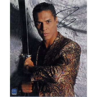 Taimak Guarriello Autographed 8x10 Last Dragon Sword Photo (DACW COA)