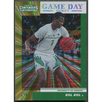 2019/20 Panini Contenders Draft Picks #14 Bol Bol Rookie School Colors Fame #1/5