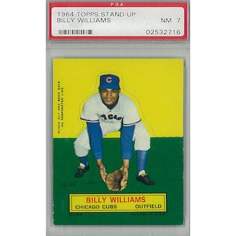 1964 Topps Stand-Up Baseball Billy Williams PSA 7 (NM) *2716 (Reed Buy)